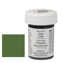 Grön pastafärg (Moss Green- Wilton)