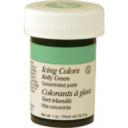 Grön pastafärg (Kelly Green- Wilton)