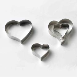 Hjärtan, 4 st utstickare