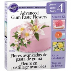 Gum Paste Flowers, sockerblomspaket
