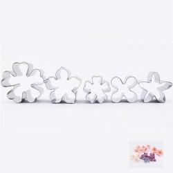 Blommor (små), 5 utstickare