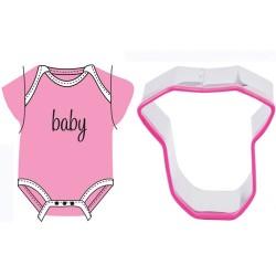 Baby-plagg, utstickare och präglingsmönster