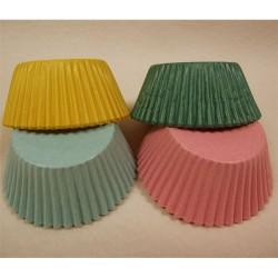 Pastell, 100 st muffinsformar