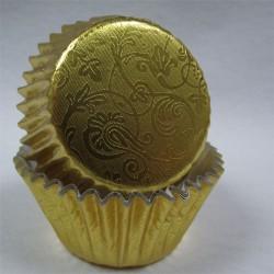 Golden Harmony, 24 st muffinsformar (relief folie)