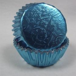 Baby Blue Harmony, 24 st muffinsformar (relief folie)