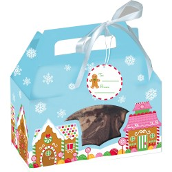 Gingerbread House, 4 st presentaskar