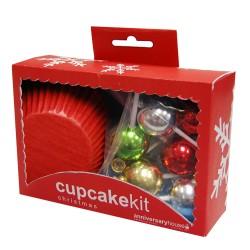 Christmas, muffinspaket