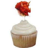 Dino, 12 st cupcake-picks