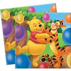 Nalle Puh och Tiger, 20 st servetter
