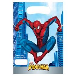 SpiderMan, 6 st kalaspåsar