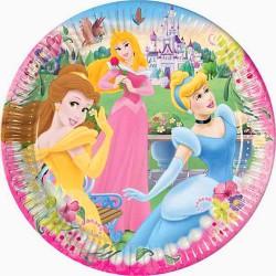 Disney Prinsessor, 10 st tallrikar