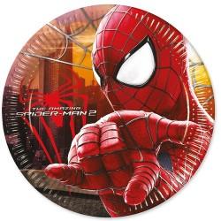 SpiderMan, 8 st tallrikar