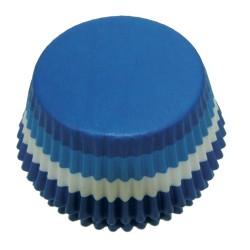 Striped Blue, ca 60 st muffinsformar