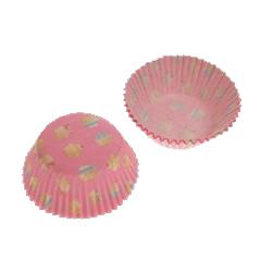 Cupcake Love (pink), ca 72 st muffinsformar