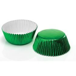 Green Foil, ca 60 st muffinsformar
