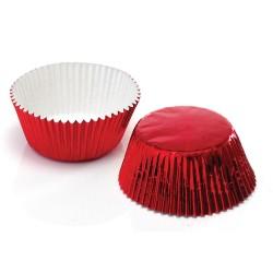 Red Foil, ca 72 st muffinsformar