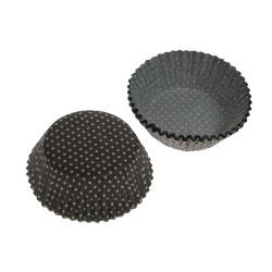 Brown Tiny Dots, ca 72 st muffinsformar