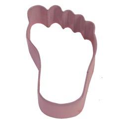 Fot, utstickare (rosa)