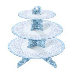 Rococo, blått muffinsträd