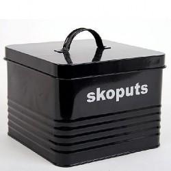 Skoputs-låda, svart