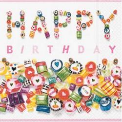 Sweet Birthday, 20 st servetter