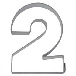 Siffran 2, pepparkaksform