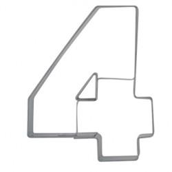 Siffran 4, pepparkaksform