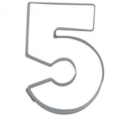 Siffran 5, pepparkaksform