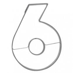 Siffran 6, pepparkaksform