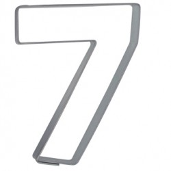 Siffran 7, pepparkaksform