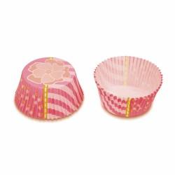 Pink Flower, 50 st muffinsformar