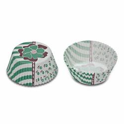 Green Flower, 50 st muffinsformar