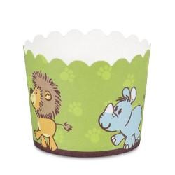Muffinskoppar , 12 st (animal pals)