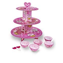 Fairy Pink, muffinsformar och muffinsträd