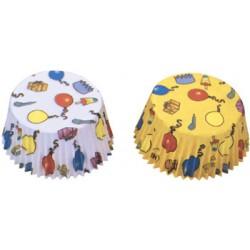 Ballonger, 50 st muffinsformar
