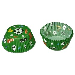 Fotboll, 50 st muffinsformar