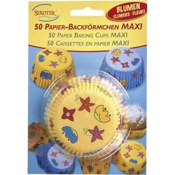 Vårblomster, 50 st muffinsformar