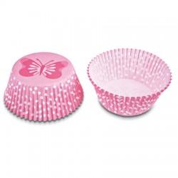 Fjäril, 50 st muffinsformar