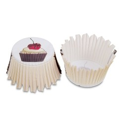 Cherry Cupcakes, 100 st muffinsformar