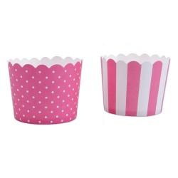 Muffinskoppar , 12 st (rosa)