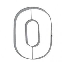 Siffran 0, pepparkaksform