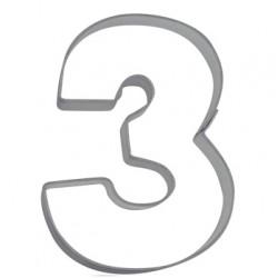 Siffran 3, pepparkaksform