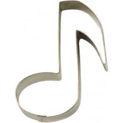 Musiknot, pepparkaksform