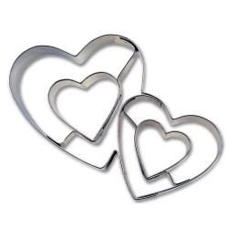 Double Hearts, kakform