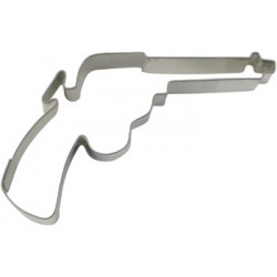 Pistol, pepparkaksform