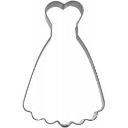 Klänning, pepparkaksform