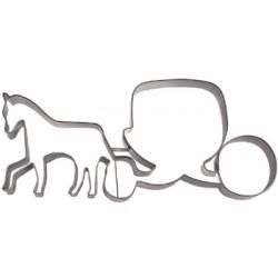 Hästdroska, pepparkaksform
