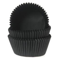 Små muffinsformar - Svartgråa, ca 60 st