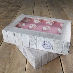 Nature, 2 st tårtkartonger (36 X 25 cm)