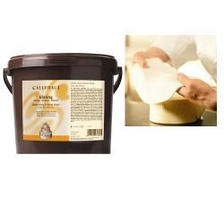 Sugarpaste (vaniljsmak), vit 7 kg (Callebaut)